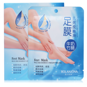 Отшелушивающая  маска для ног дезодорирующая, 2 пары