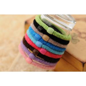 Резинка для волос плюшевая 10 шт (цвет в ассортименте)