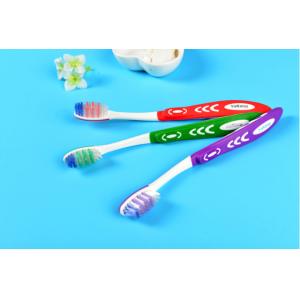 Зубная щетка  средней жесткости с противоскользящей ручкой №5508
