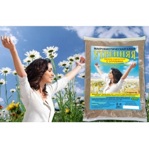 """Макробиотическая каша """"Утренняя"""" , овсяно-пшеничная с отрубями 250 г."""