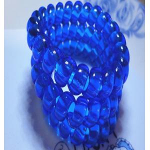 Силиконовая резинка-пружинка для волос  6 см (цвет в ассортименте)