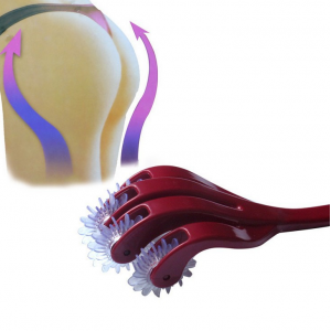 Новый антицеллюлитный массажёр для ягодиц и бёдер HIP Roller. (JZ-21)