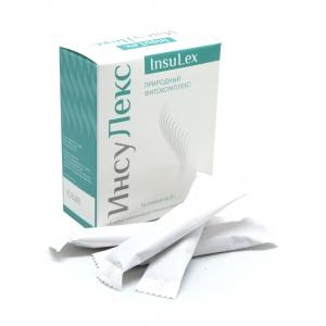 ИнсуЛекс (InsuLex) природный фитокомплес 14 стиков по 3 г.