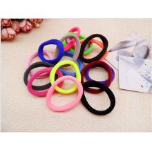 Бесшовные корейские резинки для волос простые (цвета в ассортименте)